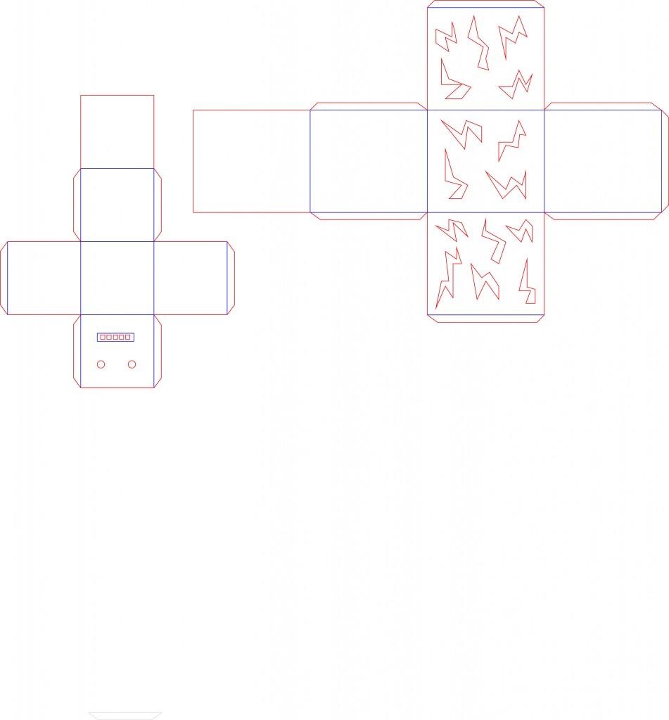 pattern robot arttech_head_body